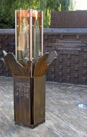 Het monument in Nijmegen